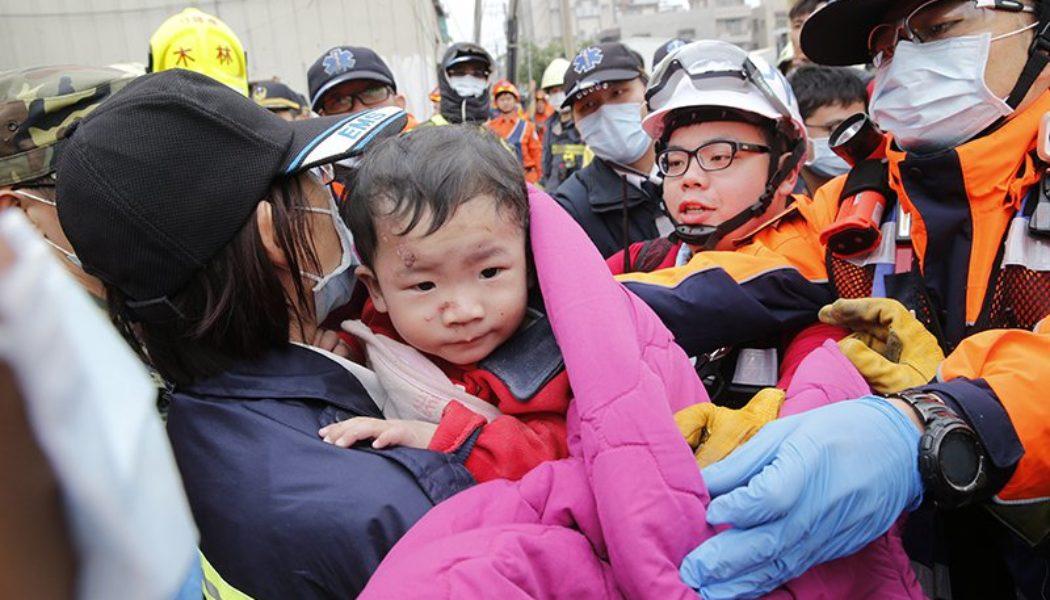 Тайвандагы җир тетрәүдә үлүчеләр арта, мәетләр чыгарыла