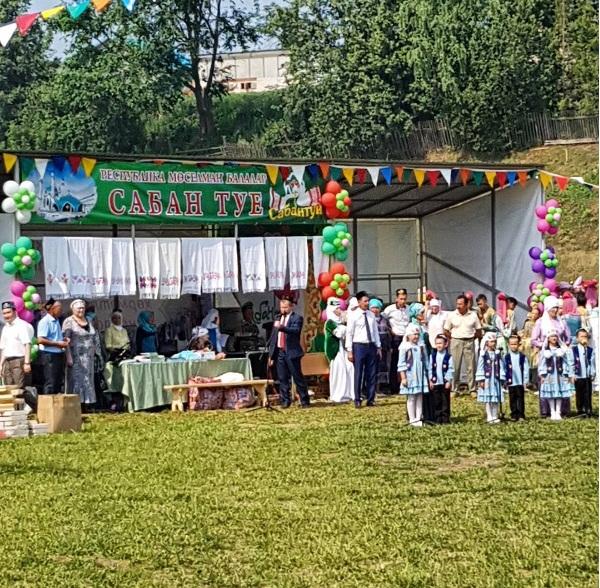Балтачта  мөселман балалары Сабан туе үткәрелә [фото,видео]