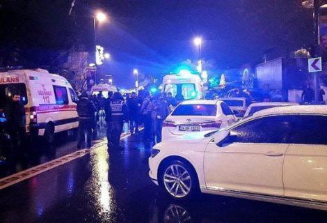 Истанбулда, Санта Клаусның һөҗүме нәтиҗәсендә, 39 кеше һәлак булган [видео]