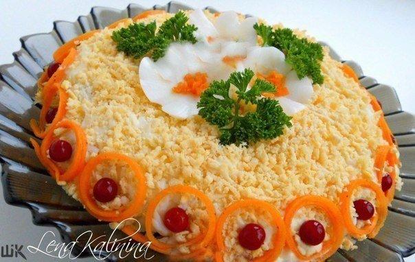 «Бунито» салаты рецепты