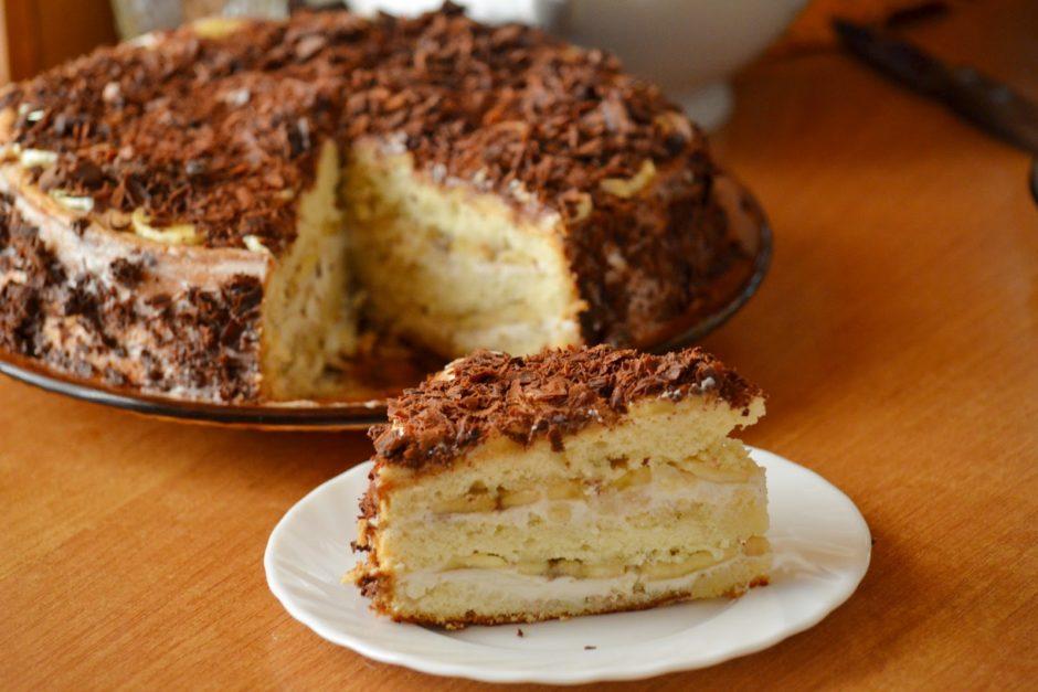 Рецепт приготовления торта с творогом