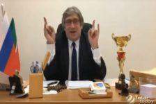 """Чаллы мәктәп директоры интернетны """"шартлаткан"""" [видео]"""