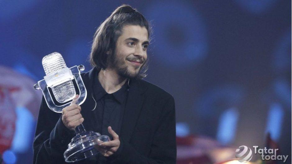 «Евровидение-2017″дә йөрәк өянәге белән авыручы Португалия вәкиле җиңде [видео]