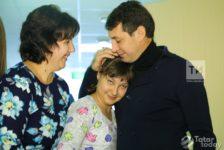 Фирдүс Тямаев хосписта күз яшьләрен тыя алмаган [фото+видео]