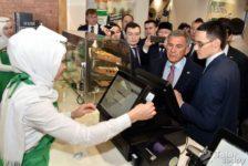 Татарстан президенты татар фастфудыннан авыз итеп карады [видео]