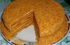 Баллы (медовый) торт рецепты