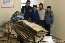 20 көндә җыелган 11 тонна кәгазьне авыру балалар өчен акчага әйләндерәләр