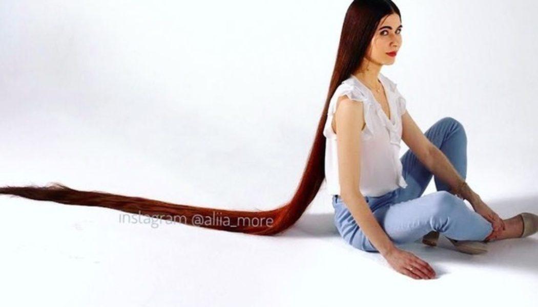 Чәче 240 сантиметрлы татар кызы Алия дөньяны шаккаттыра. Англия, Америка газеталары яза