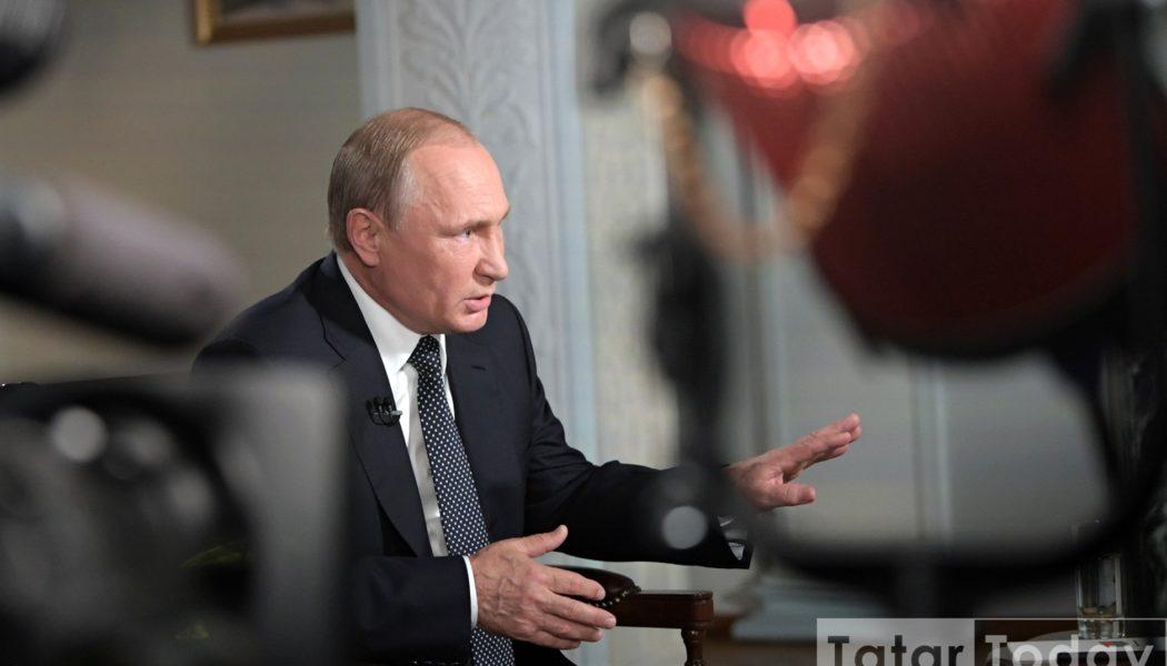 Владимир Путин ялгышып башка ил президынты булуын да әйтә башлый [видео]