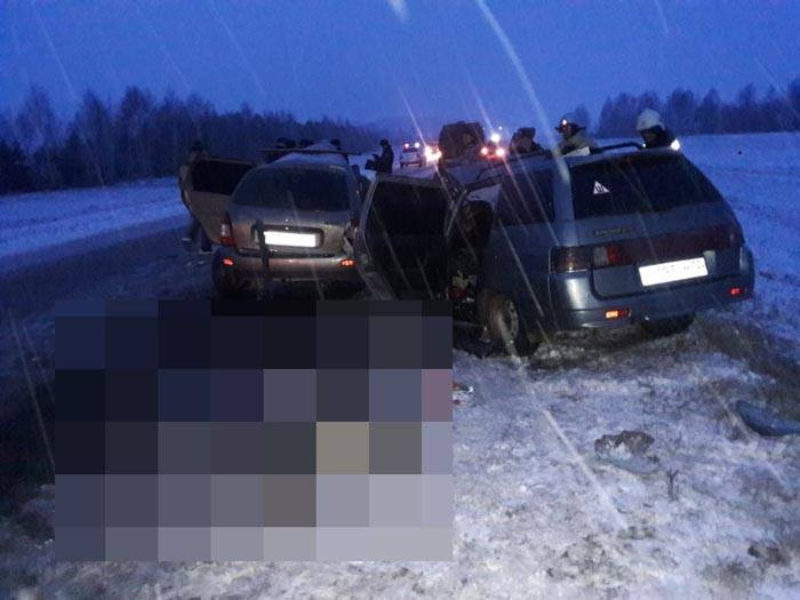Коточкыч авариядә 6 кеше һәлак була [фото-видео]
